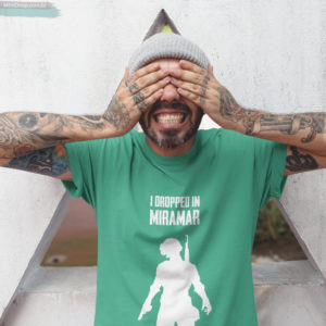 Camiseta Pubg Miramar